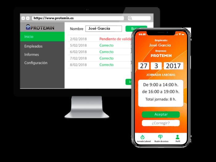 app registro horario