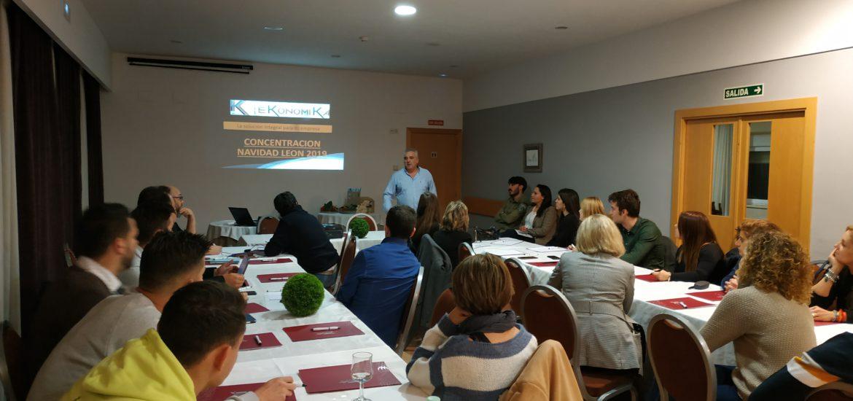 Jose Luis Rodriguez presenta los resultados del Grupo EKonomiKa